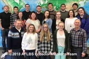 Cross Cultural Ministry Class Plans Trip to Ecuador