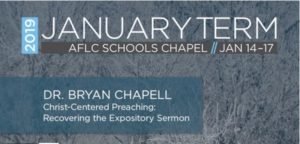 Bryan Chapell | Session 1